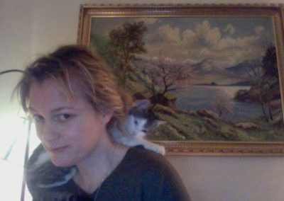 "Nina med ""kattekrave"""